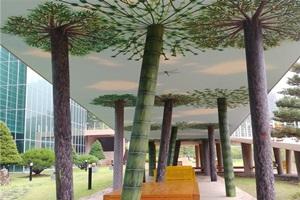 태백시 고생대자연사박물관, 뉴-브리지(New-Bridge) 포토존 조성, 국내여행, 여행정보