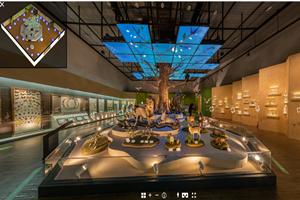 목포자연사박물관, 가상현실 온라인 전시관 운영