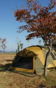 금강의 황홀한 밤을 위하여, 웅포 곰개나루 캠핑장