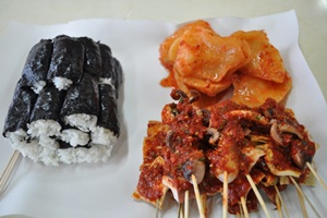 불현듯 생각나는 맛, 충무김밥,경상남도 통영시