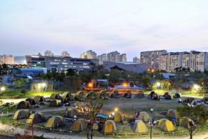 야인시대 캠핑장에서 즐기는 '상상하는 캠핑',경기도 부천시