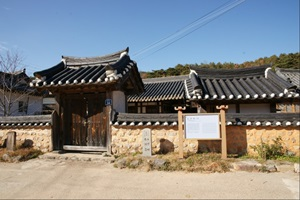 유서 깊은 전통 마을의 고택, 개실마을 추우재