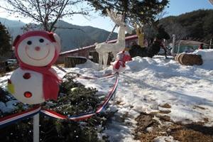 이곳에서는 진짜 산타를 만날지도... 분천역 산타마을,경상북도 봉화군