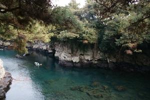 신비한 자연이 흐르는 물길, 제주 효돈천(孝敦川),제주특별자치도 서귀포시