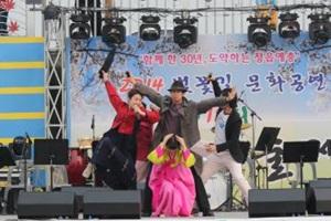 벚꽃과 예술의 만남 '정읍예술제',전라북도 정읍시