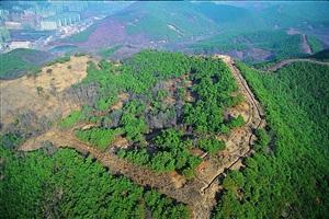 팔거산성에서 신라의 역사를 상상하다,대구광역시 북구