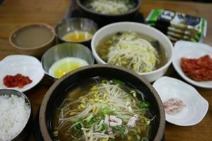 전주 성곽 안과 밖의 음식, 백반과 콩나물국밥