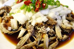 강남음식의 진가를 보여주는 간장게장,서울특별시 강남구