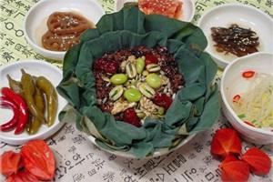 건강하고 신선한 맛, 함양 연잎밥
