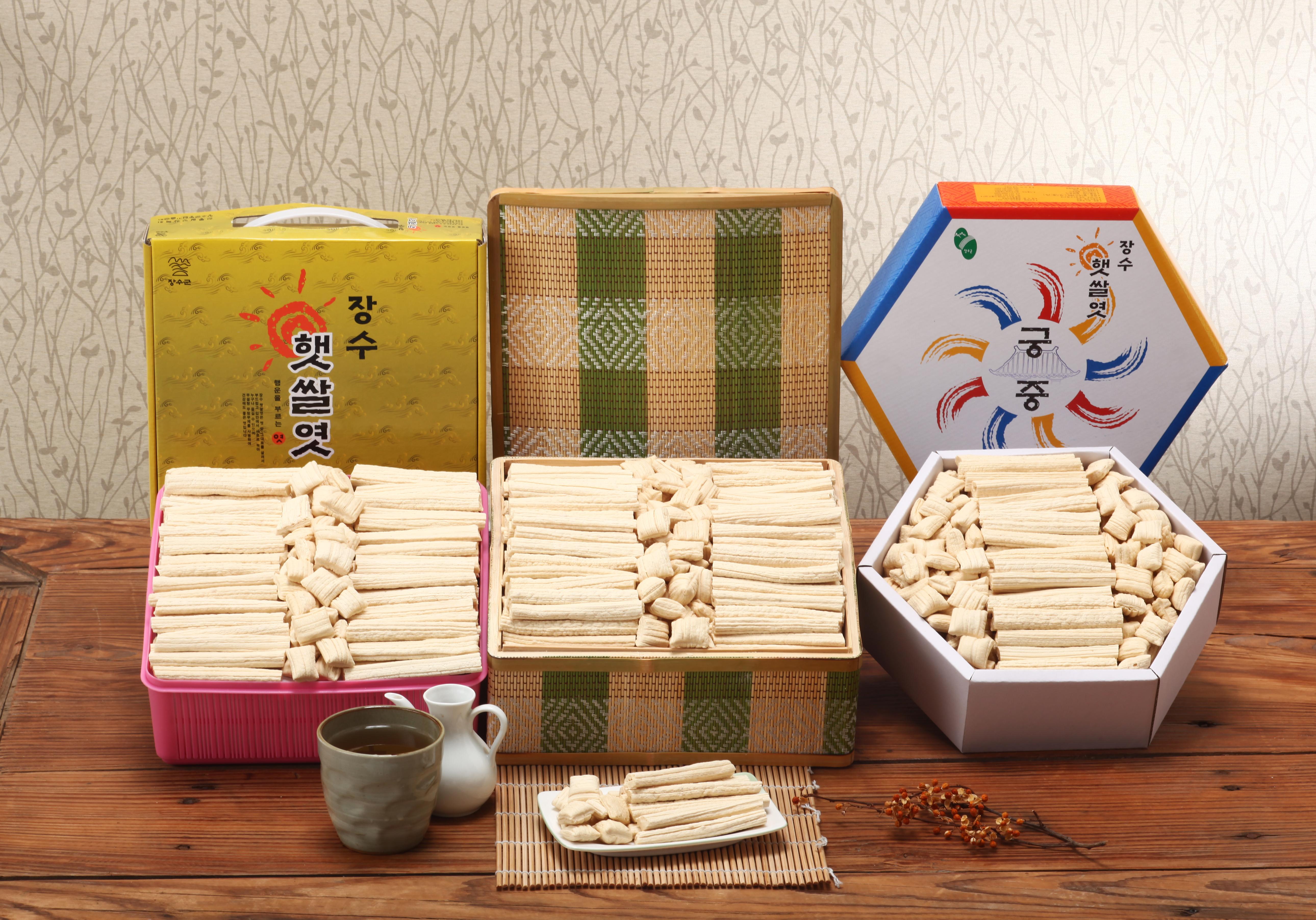 장수 쌀엿,전라북도 장수군,지역특산물