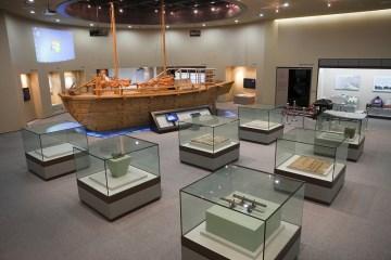 물류 유통의 중심지였던 군산의 과거와 현재, 미래를 살펴볼 수 있는해양물류역사관 전경.